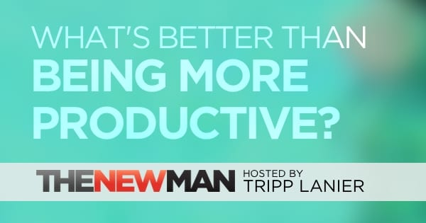 What's Better Than Being Productive?