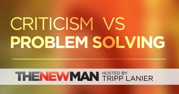 Is Criticizing the Same as Problem Solving?