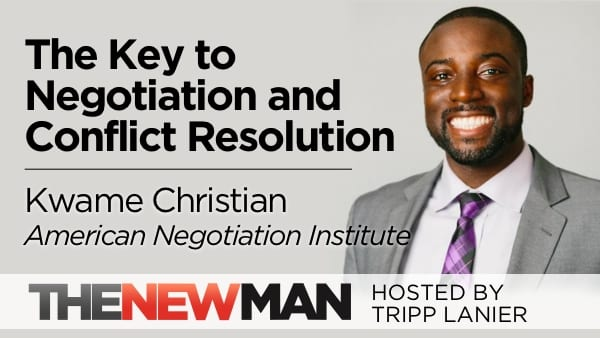 The Key to Negotiating and Resolving Conflict – Kwame Christian, American Negotiation Institute