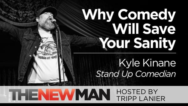 Why Comedy Will Save Your Sanity – Kyle Kinane